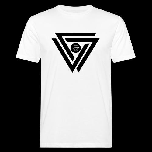 07logo complet black - T-shirt bio Homme