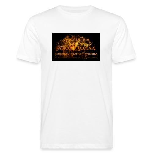 Accademia_Fabio_scolari_nero-png - T-shirt ecologica da uomo