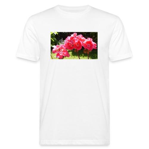 floral - Men's Organic T-Shirt
