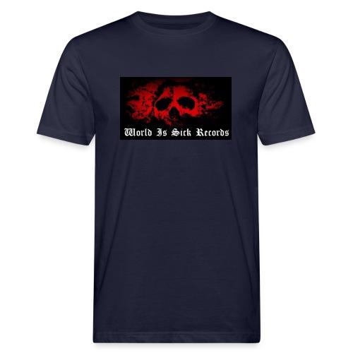 World Is Sick Skull Huppari - Miesten luonnonmukainen t-paita