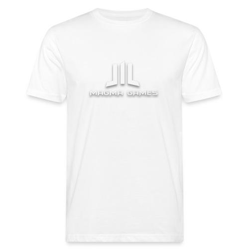 Magma Games mok zwart met - Mannen Bio-T-shirt