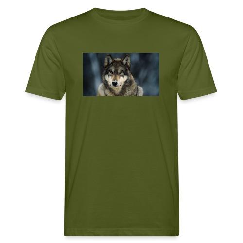 wolf shirt kids - Mannen Bio-T-shirt