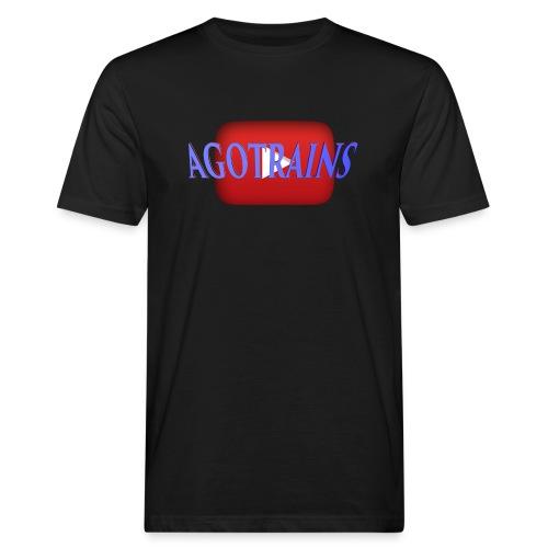 AGOTRAINS - T-shirt ecologica da uomo