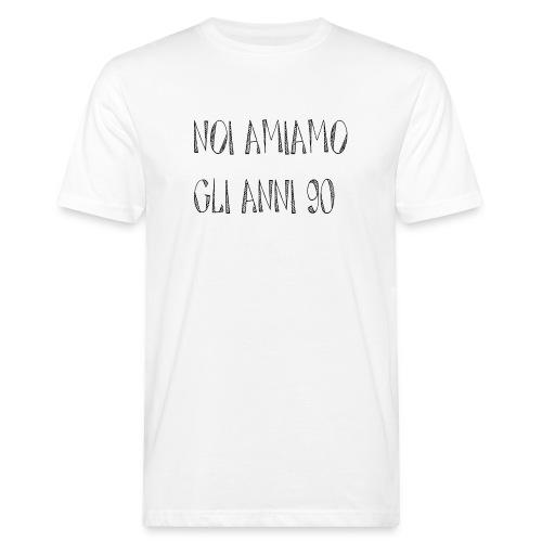 Noi amiamo gli anni '90 - T-shirt ecologica da uomo