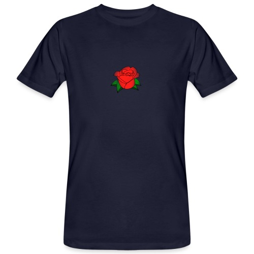 Rosa - T-shirt ecologica da uomo