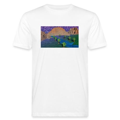 Silent river - Men's Organic T-Shirt