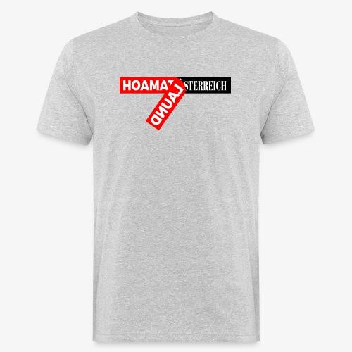 hoamatlaund tagloose und Österreich - Männer Bio-T-Shirt