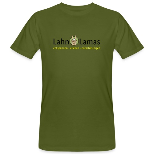 Lahn Lamas - Männer Bio-T-Shirt