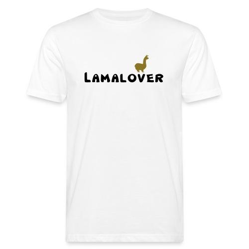 Lamalover - Männer Bio-T-Shirt