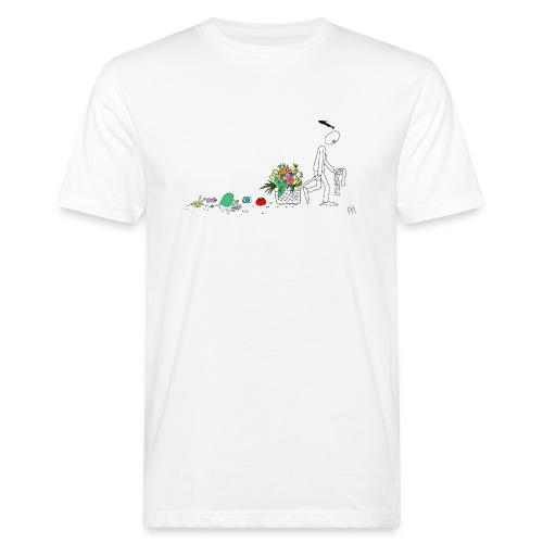 frukt og grønt handleveske - Økologisk T-skjorte for menn
