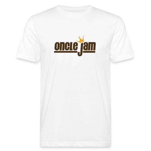 Oncle Jam horizontal brun - T-shirt bio Homme