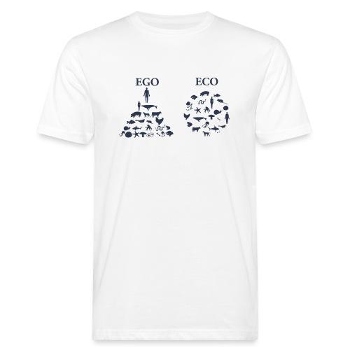 Ego VS Eco - T-shirt ecologica da uomo