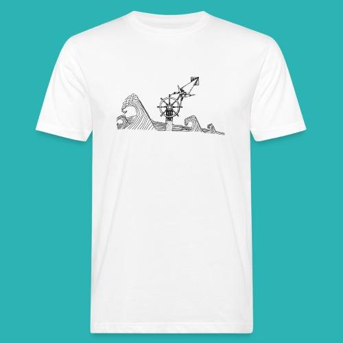 Carta_timone-png - T-shirt ecologica da uomo