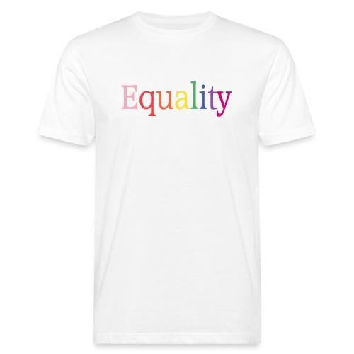 Equality | Regenbogen | LGBT | Proud - Männer Bio-T-Shirt