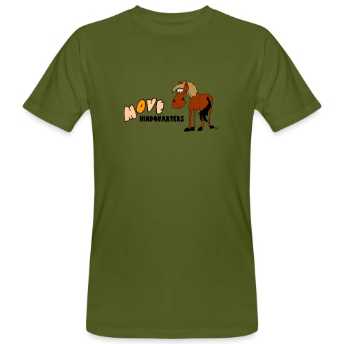 move hindquarters - Männer Bio-T-Shirt