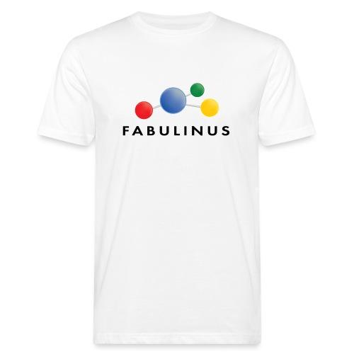 Fabulinus logo dubbelzijdig - Mannen Bio-T-shirt