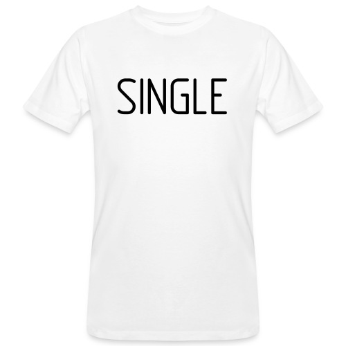 Single - Männer Bio-T-Shirt