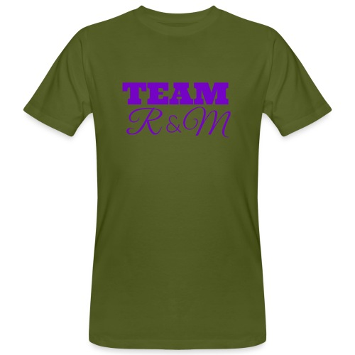 Team R N M Hoodie Purple, M - Men's Organic T-Shirt
