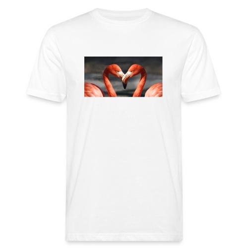flamingo - Männer Bio-T-Shirt