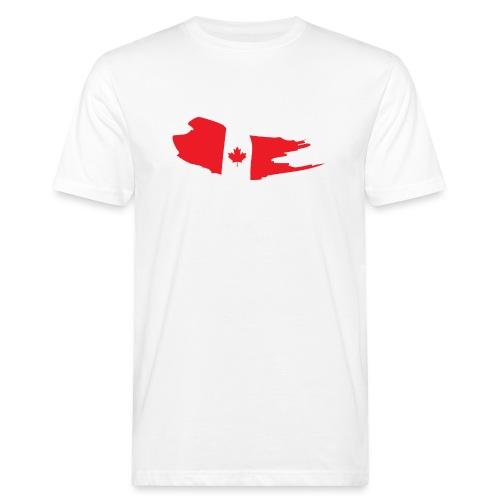 Canada Flag - Camiseta ecológica hombre