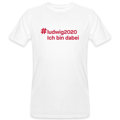 #ludwig2020 - Männer Bio-T-Shirt