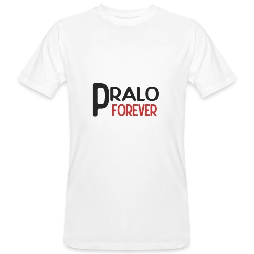 pralo forever noir et rouge - T-shirt bio Homme