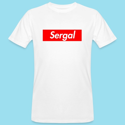 SERGAL Supmeme - Männer Bio-T-Shirt