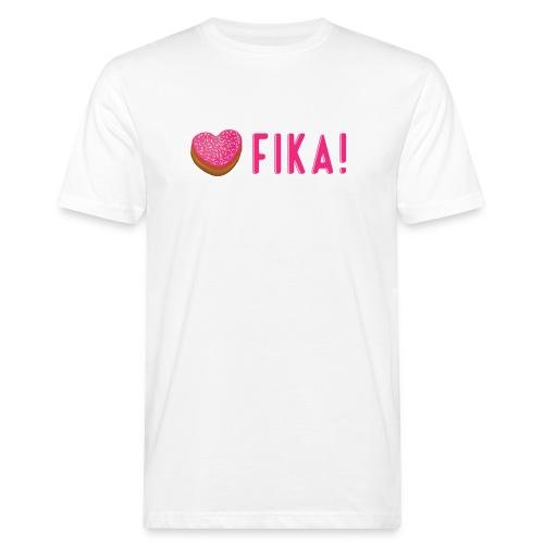 Jag älskar fika! - Miesten luonnonmukainen t-paita