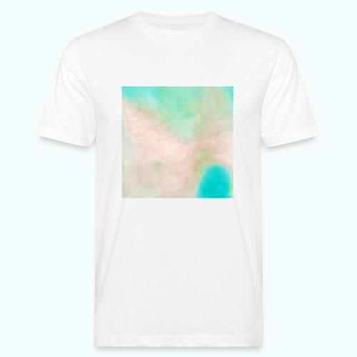 Atoll beach watercolor beige nature - Men's Organic T-Shirt