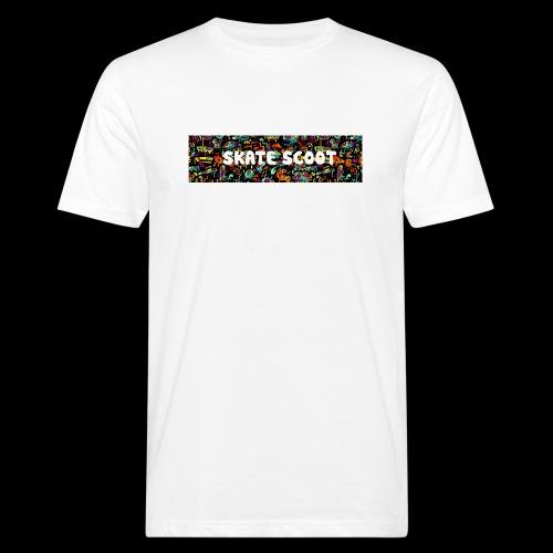 funny logo - Mannen Bio-T-shirt