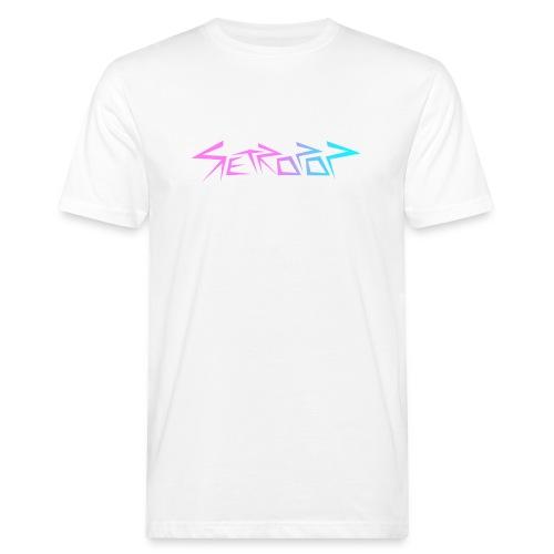 Retropop - Logo värillinen - Miesten luonnonmukainen t-paita