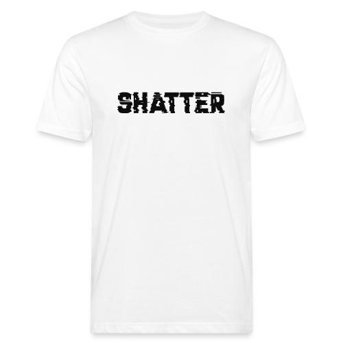 shatter - Männer Bio-T-Shirt