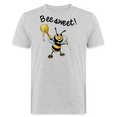 Bees7-2 Bienen sind süß   save the bees - Men's Organic T-Shirt