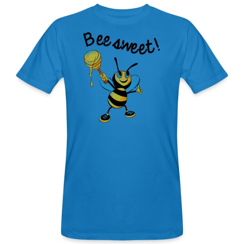 Bees7-2 Bienen sind süß | save the bees - Men's Organic T-Shirt