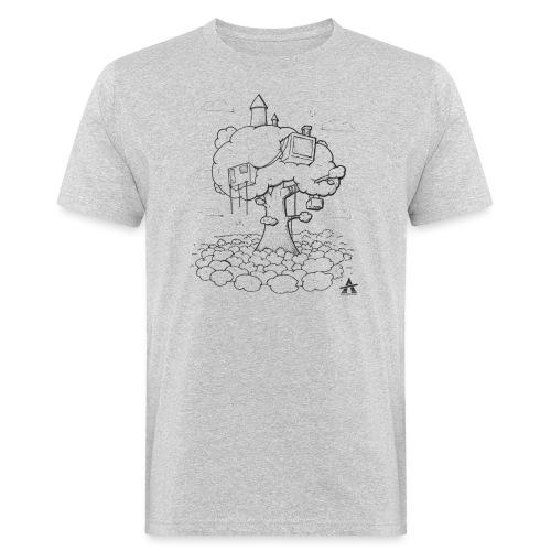 Cabane dans un arbre Sketch Line - T-shirt bio Homme