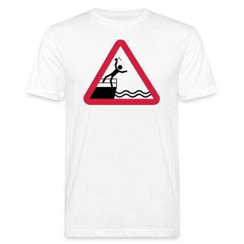 Bitte kein Bier Verschütten! - Männer Bio-T-Shirt