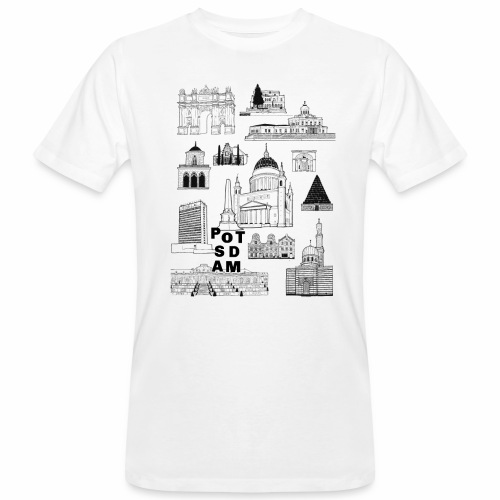 Potsdamer Fan-Shirt - Männer Bio-T-Shirt