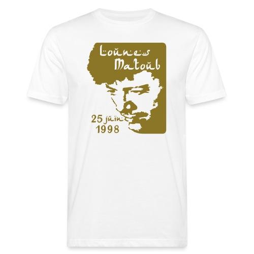 Motif hommage à Lounes Matoub - T-shirt bio Homme