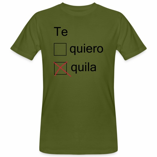 tequila - T-shirt bio Homme