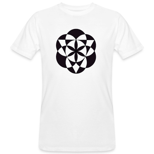 diseño de figuras geométricas - Camiseta ecológica hombre