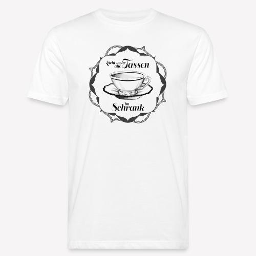 Tassen im Schrank - Männer Bio-T-Shirt