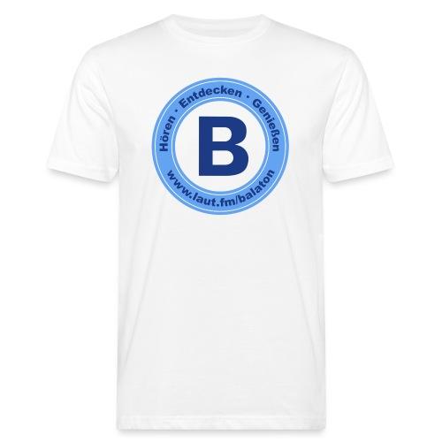 Webradio Balaton - Männer Bio-T-Shirt