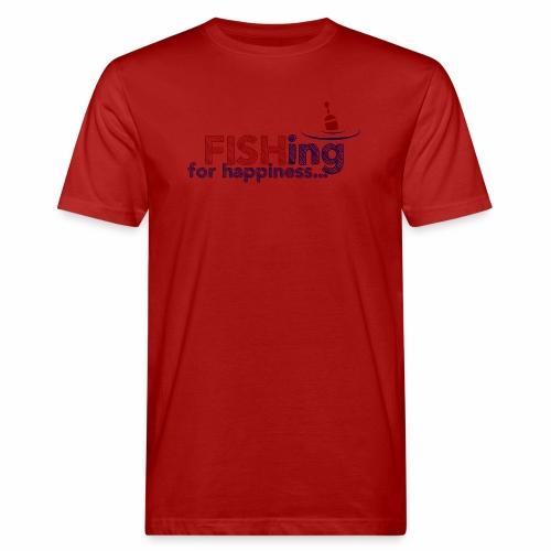 Fishing For Happiness - Men's Organic T-Shirt