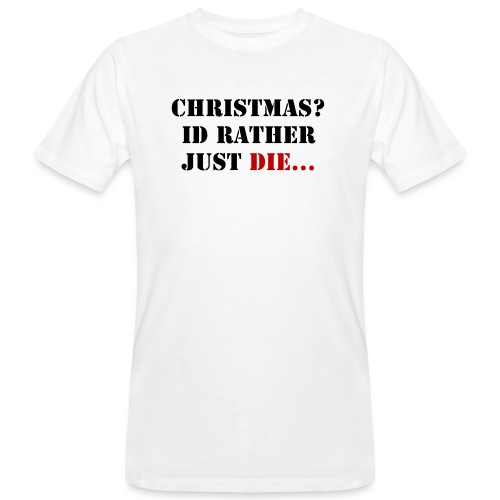 Christmas joy - Men's Organic T-Shirt