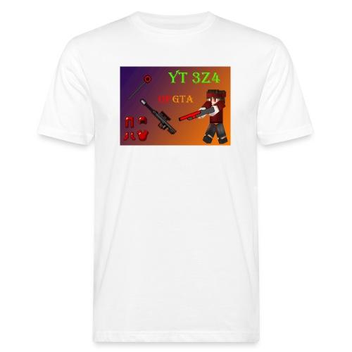 yt 3z4 - Miesten luonnonmukainen t-paita