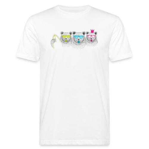 BABO Bärenfamilie - Männer Bio-T-Shirt
