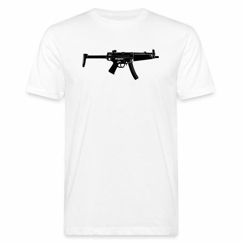 BlackGun - Männer Bio-T-Shirt