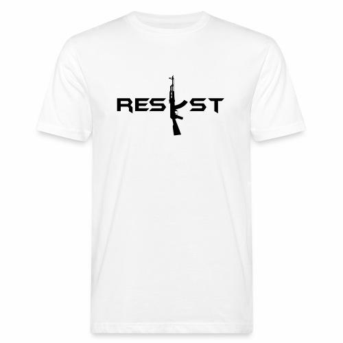resist - T-shirt bio Homme