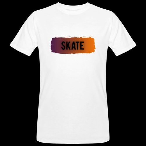skate brush - Mannen Bio-T-shirt