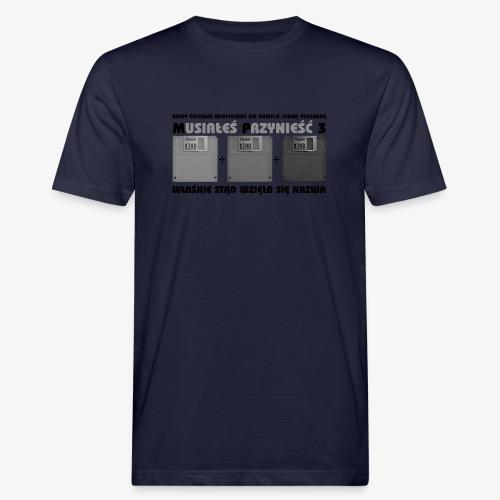 piosenka na dyskietkach - Ekologiczna koszulka męska